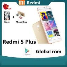 Xiaomi – smartphone Redmi 5 plus, rom global, 4 go 64 go, pour personnes âgées, batterie 4000mAh, écran HD 5.99, Snapdragon 625, 12 mp, utilisé