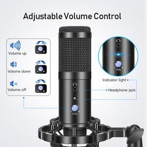 Image 4 - GGMM F1 Microphone USB Condenser Microphones for Laptop Mac Computer Recording Studio Streaming Gaming Karaoke Youtube Videos