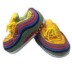 Unissex tamanho grande 35-44 chinelos de inverno mulher snug tênis senhoras casa quente chinelos homens/mulheres chinelos casa sapatos mulher