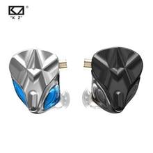 KZ ASF Earphones Noise Cancelling Earbuds Sport Headphones 10 BA Units Balanced armature headset