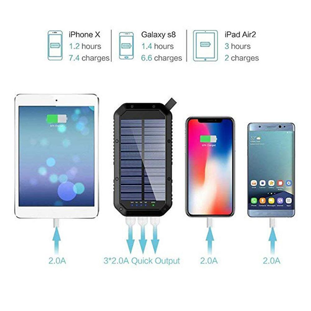 Lit Wireless Solar PowerBank Type C 4