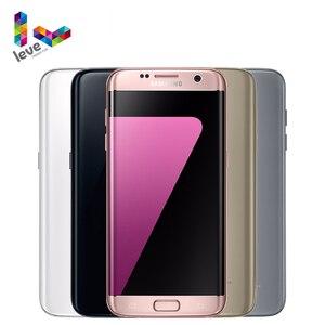Samsung Galaxy S7 край G935F/G935V разблокирован мобильный телефон, 4 Гб оперативной памяти, 32 Гб встроенной памяти, 5,5