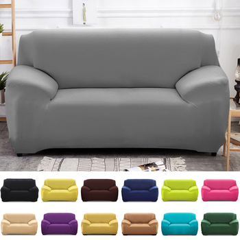 1 2pcs elastic sofa covers for living room l shape sectional slipcovers strench armchair couch covers 1 2 3 4 seater funda cover Stretch Slipcovers Sectional Elastic Stretch Sofa Cover for Living Room Couch Cover L shape Armchair Cover 1/2/3/4-seater