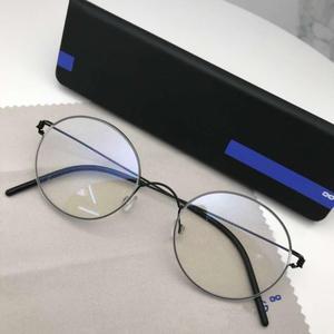 Ретро Круглые Безвинтовые очки титановые оправы для очков мужские брендовые дизайнерские очки ручной работы Feminino Lentes Opticos