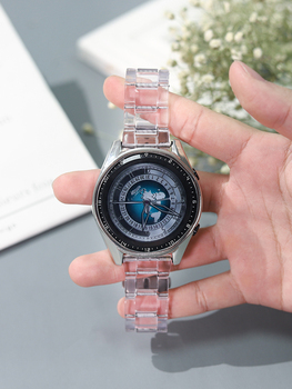 20mm 22mm Resin Bracelet Replacement Strap Link Band For HUAWEI Watch GT 2 for Samsung Galaxy Watch Active Gear S3 Amazfit 2S