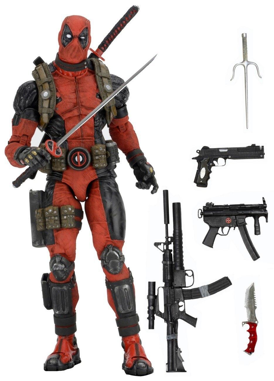Marvel X-Men Deadpool Joints Moveable Poseable Super Hero Action Figure Model Toys 16cm