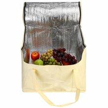 12/14/16 pouces sac isotherme Portable gâteau alimentaire sac isolé papier d'aluminium boîte thermique étanche glace Pack boîte à déjeuner sac de livraison