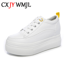 Invisible High Heel Design Women Platform Casual Sh