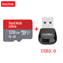 Sandisk karta micro SD klasa 10 16GB 32GB 64GB 128GB karta pamięci C10 Mini karta SD SDHC SDXC UHS I TF karta do smartfona/telewizora