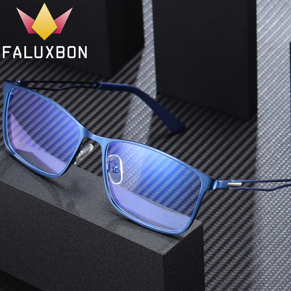 <font><b>Progressive</b></font> <font><b>Prescription</b></font> <font><b>Glasses</b></font> <font><b>Men</b></font> Optical Anti Blue Light Blocking Eyeglasses Myopia Photochromic Eyewear Reading Degree New image