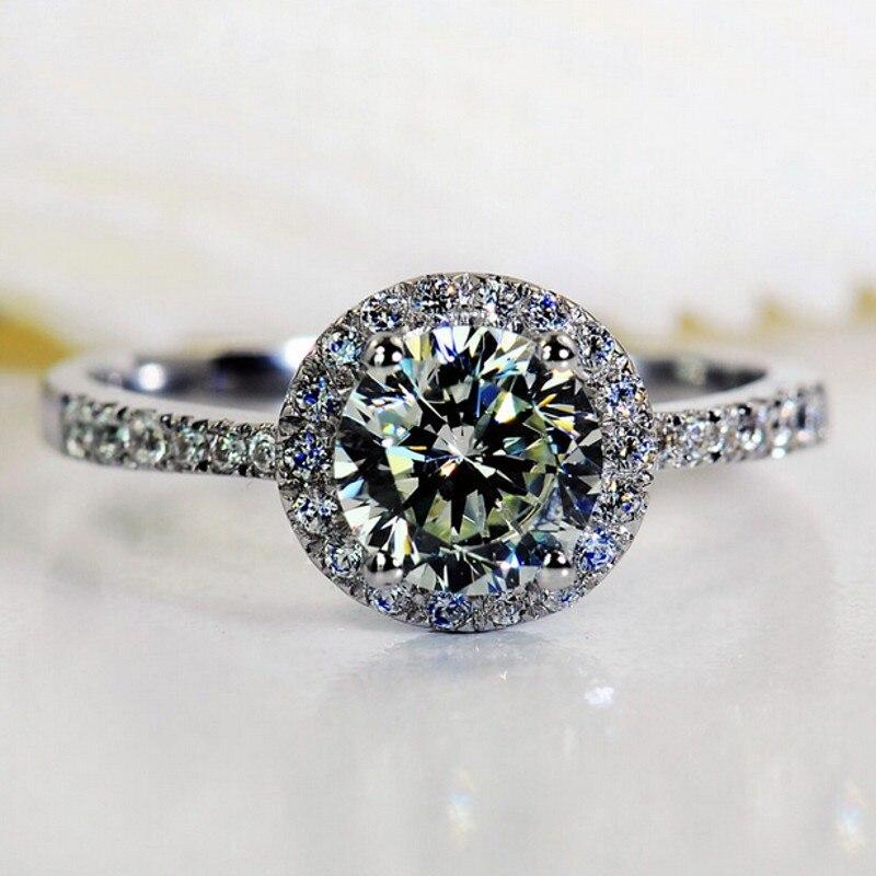 51 Styles Lab diamant promesse bague 925 en argent sterling fiançailles bague de mariage anneaux pour femmes hommes pierres précieuses fête bijoux cadeau 4