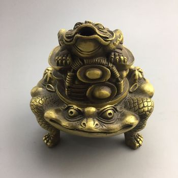 Chinese Old Copper Collection Pure Copper Incense burner