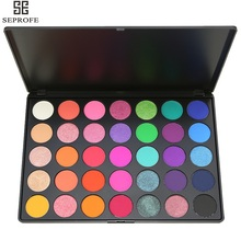 35 Natural Warm Colours Eyeshadow Palette Waterproof Smoky Matte Shimmer Eye Shadow Makeup Kit Arrive in as soon a week