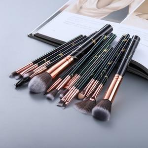 FLD15/10/5Pcs Makeup Brushes Set Cosmetic Powder Eye Shadow Foundation Blush Blending Beauty Make Up of Brochas Maquillaje KIT