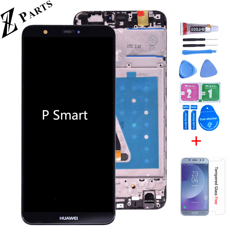 Original For Huawei P Smart LCD Display Touch Screen Digitizer Assembly For Huawei Enjoy 7S LCD With Frame FIG LA1 LX1 L21 L22
