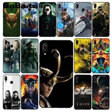 Babaite Coque Marvel Hero Loki Telefon Fall für Xiaomi Redmi8 4X 6A 5A 7A S2 Redmi 5 5Plus Note5 7 Note8Pro(China)