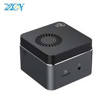 Super-Portable Mini PC Intel Celeron N4100 Quad Cores 8GB LPDDR4 RAM Windows 10 2.4G/5G Wifi Bluetooth 4.2 HDMI 2.0 4k Computer
