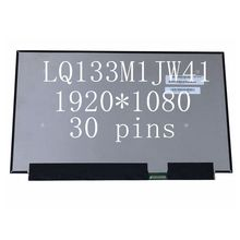 13.3'' Laptop LCD Screen Panel Matrix LQ133M1JW41 FHD 1920*1080 30PIN