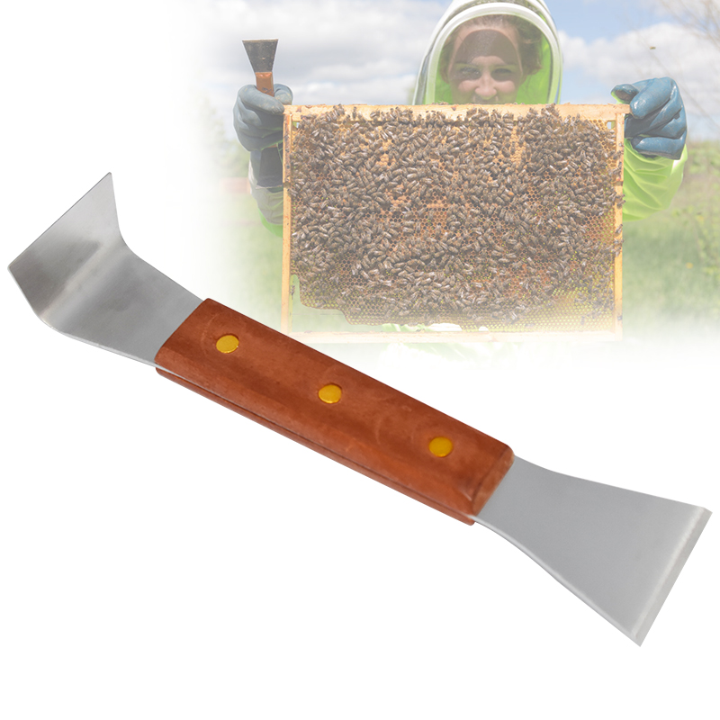 Beekeeping Tools 2 In 1 Take Honey Tools Cut Honey Knife Beekeeping Necessary BeeHive Tool Equipment Scraper