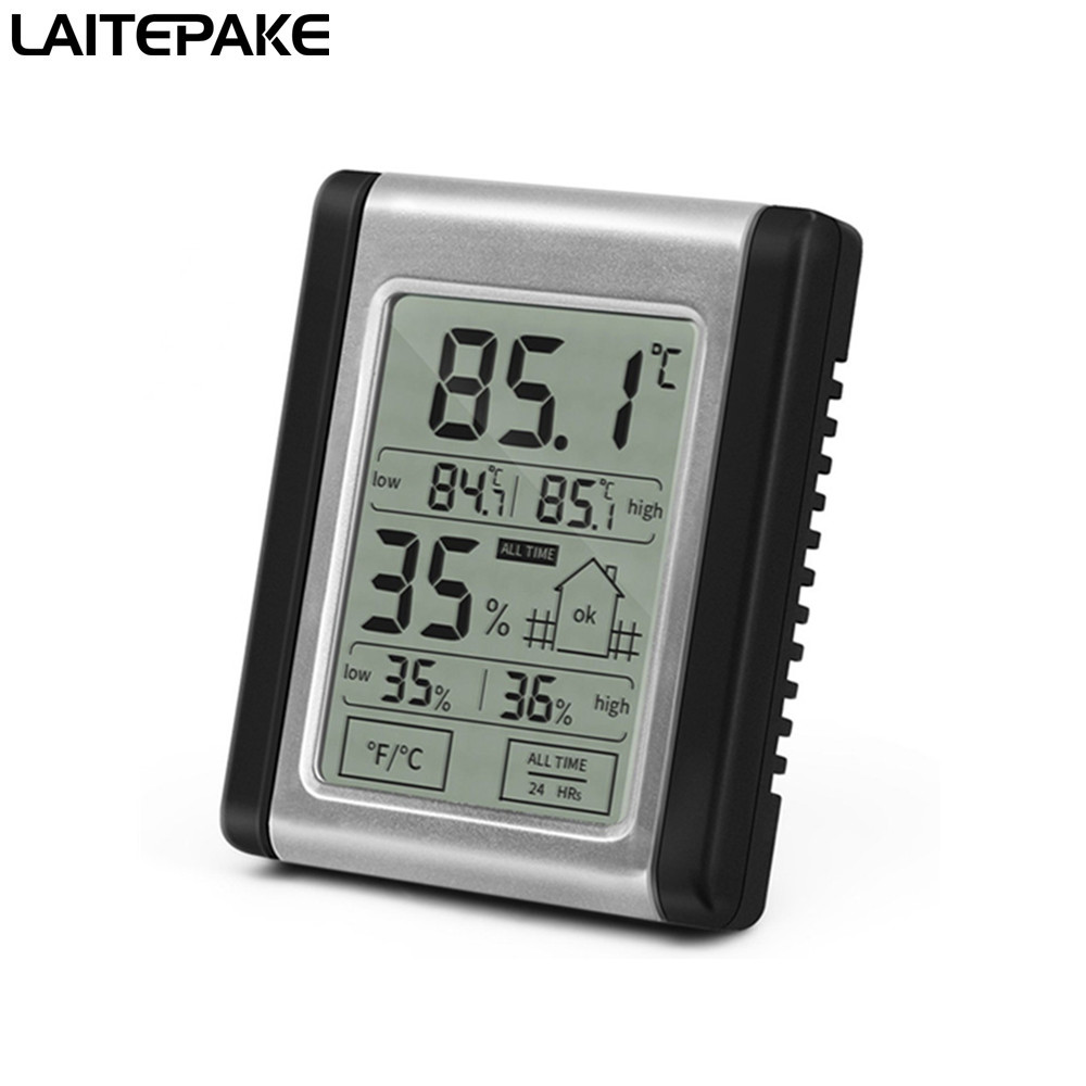 Wireless Digital Hygrometer Indoor Outdoor Thermometer Humidity Monitor With Temperature Gauge Humidity Meter For Led Grow Tent