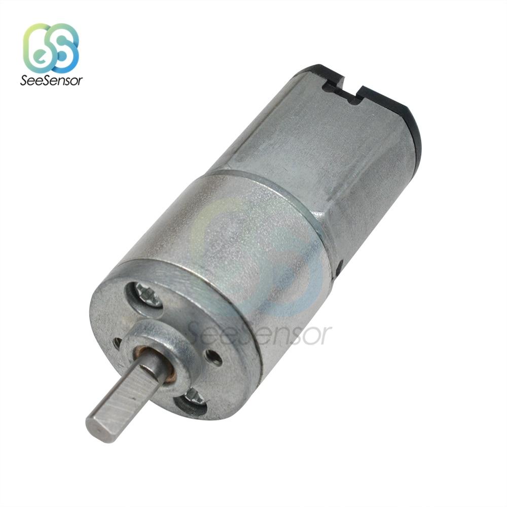 16GA-030 DC 6V 12V Gear Motor DC Motor Electric Gear Motor High Torque 30 60 100 150 200 300 RPM