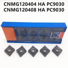 Lathe CNC CNMG120408 External-Turning-Tool Carbide PC9030 HA