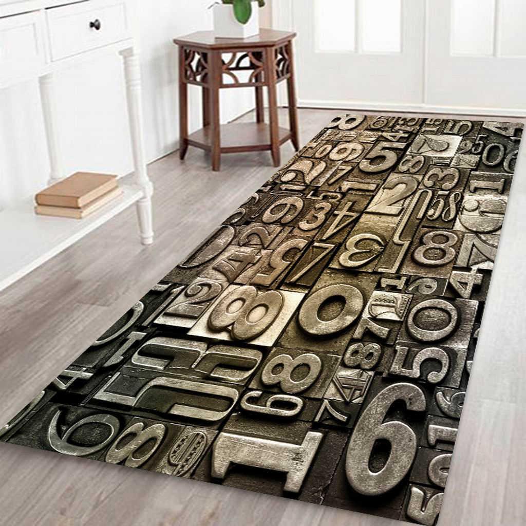 Dekorative Schlafzimmer Nacht Matte Teppich 3d Wirkung Boden Teppich Laufer Matte 180x60cm Aliexpress