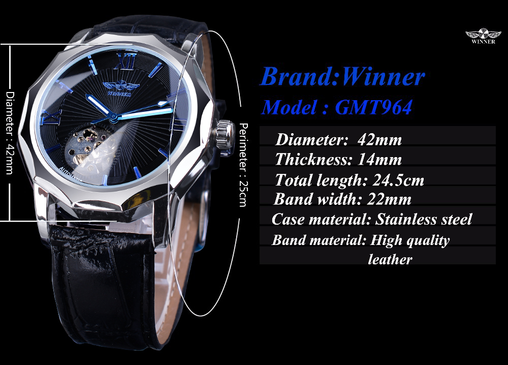H549a0212fa4e4187af7937059fddaf1bi Winner Blue Ocean Geometry Design Transparent Skeleton Dial Mens Watch Top Brand Luxury Automatic Fashion Mechanical Watch Clock
