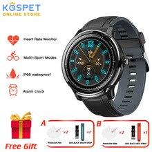 KOSPET التحقيق ip68 مقاوم للماء ساعة ذكية الرجال كامل اللمس مراقب معدل ضربات القلب الطقس جهاز مراقبة اللياقة الرياضية SN80y Smartwatch النساء