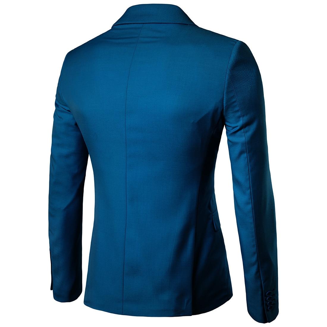 Business Leisure Suit Lang Best Man Wedding One-Button Suit Jacket Men'S Wear 9-Color Xf001 Suit