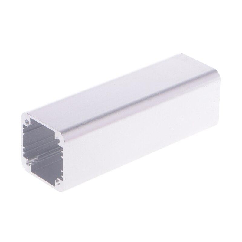 New DIY Extruded Electronic Project Aluminum Enclosure Case Black 100x32x32mm