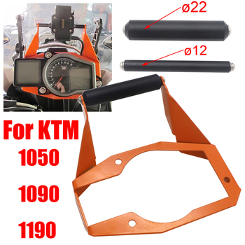 motorcycle Stand Holder Phone Mobile Phone GPS Plate Bracket For KTM 1050 1090 1190 Adventure ADV