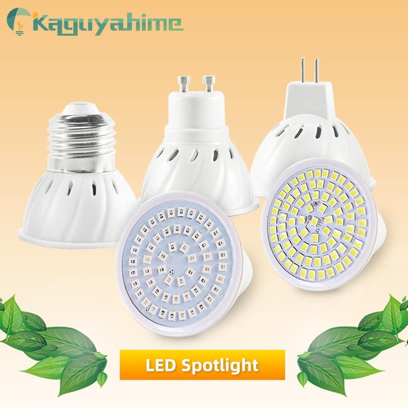 Kaguyahime E27 LED Bulb MR16 GU10 Spotlight SMD2835 Plant Lamp LED Grow Light High Bright AC 220V MR16 Spot Light Energy Saving