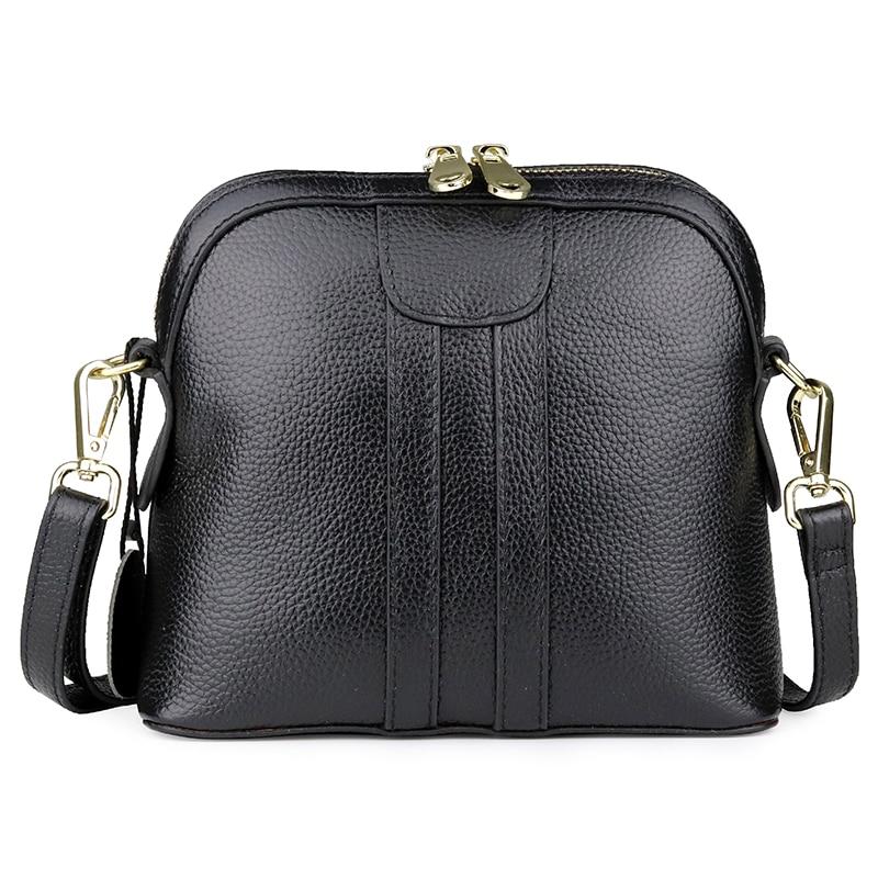Women Messenger Bags cow leather Female single Shoulder zipper Bag Crossbody Bags Fashion Lady Handbag Tote Bag for Women 2020