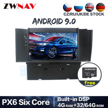 PX6 DSP Android 9,0 Car Radio DVD GPS de navegación reproductor Multimedia para Citroen C4 C4L DS4 2011-2016 Auto Audio WIFI Video ESTÉREO