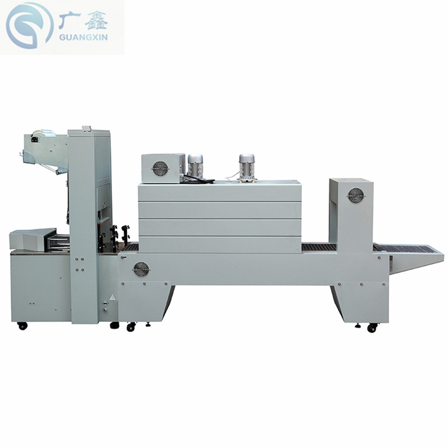 Semi auto PE Shrink Tunnel Machine BZJ5038B with BSE5040A Shrink Packaging Machine ,Sleeve Wrapper For Beverage water bottles Food & Beverages Machines