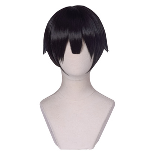Image 5 - UWOWO tuvalet bağlı Hanako kun/Jibaku Shounen Hanako kun Cosplay peruk 25cm doğal siyah saç