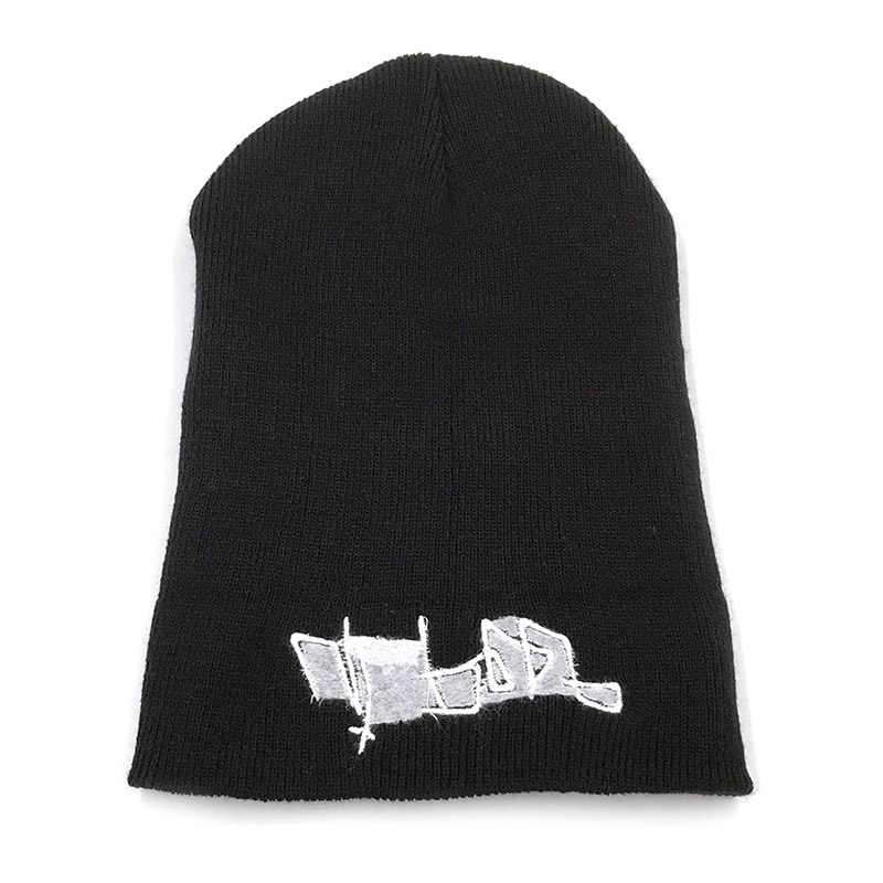 Lil Peep Beanie Embroidery Women Men Knitted Hat Autumn Winter Keep Warm Hip-pop Outdoor Casual Cap Soft Solid Hats TG0293