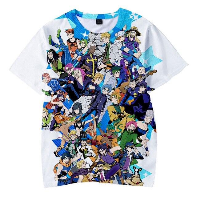 JOJO 3D T-Shirt
