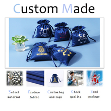 Custom Link for Jewelry Box Velvet Drawstring Gift Bag Cotton Pouch Jewelry Packaging&Organizer
