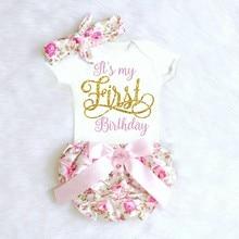 1 ano 1st bebê meninas vestido de aniversário tutu + bandana da criança crianças recém-nascidos batismo roupas 12m vestido de batismo unicórnio vestido