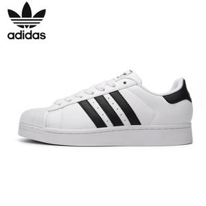 Adidas Skateboarding-Shoes Sport-Sneakers Anti-Slippery Superstar-Clover Women And Outdoor