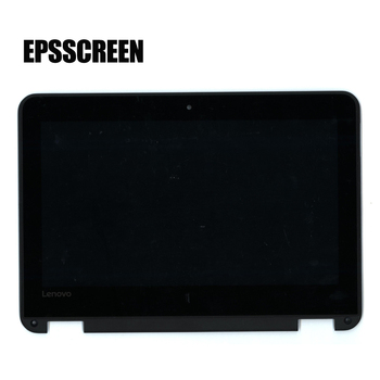 "new assembly notebook monitor for Lenovo 300e 81FY WinBook N24 81AF Lcd Touch Screen w/ Bezel 11.6"" HD 5D10S70188 display"