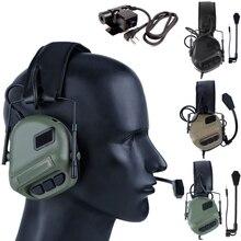 HD-09 тактическая гарнитура и PTT набор для военной авиационной связи наушники с шумоподавлением Softair наушники для съемки