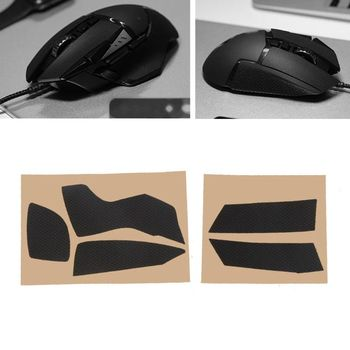 5PCS Hotline Games Mouse Skates Side Stickers Anti-slip Tape For logitech G502 Mouse mouse flexible cable for logitech g502 mouse side keys motherboard circuit board m5tb