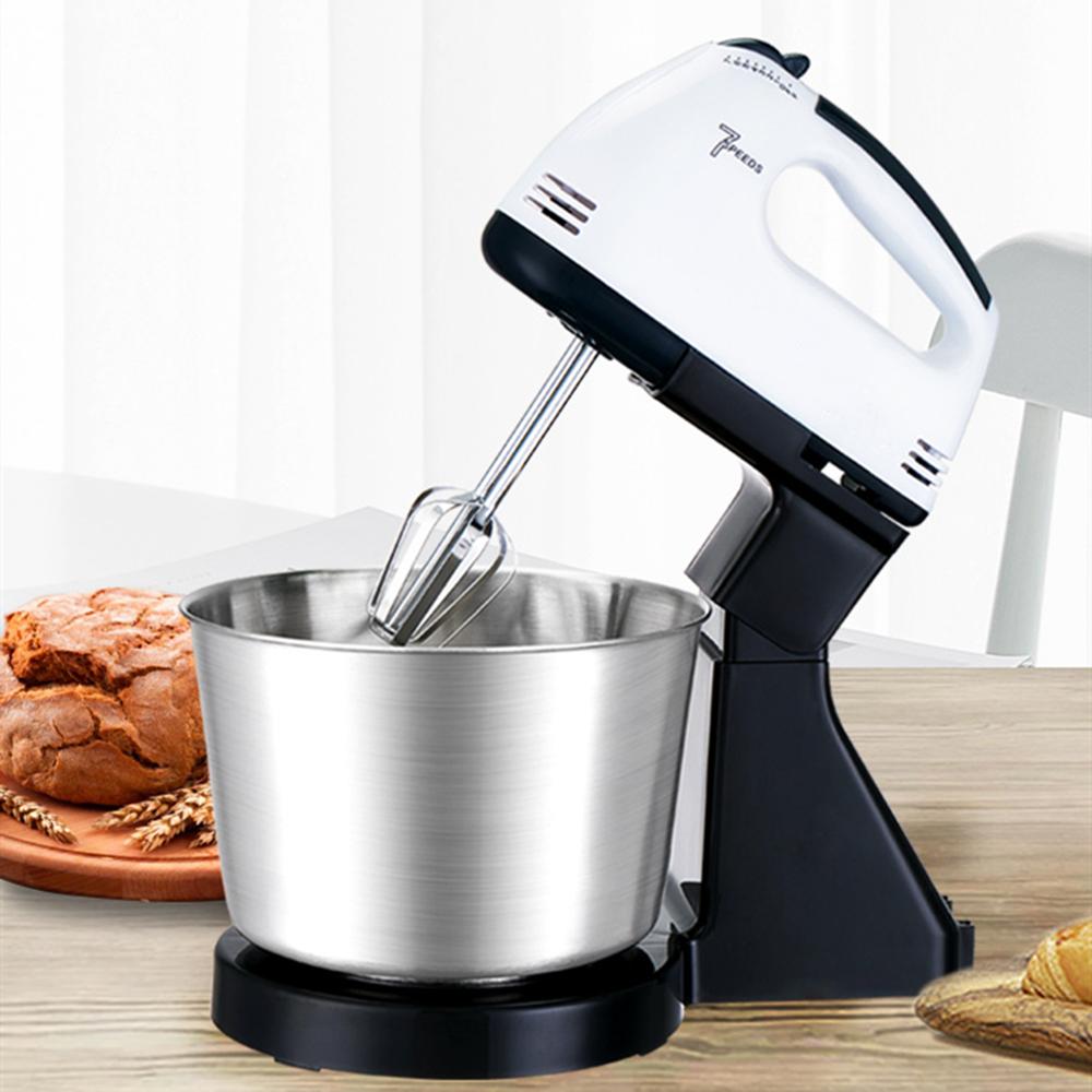 Электрический Ручной Миксер для взбивания яиц, подставка для стола, миксер для теста для выпечки, крема для взбивания, Кухонная техника, инструменты для приготовления пищи|Миксеры|   | АлиЭкспресс