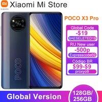 Global Version POCO X3 Pro 128/ 256GB ROM Smartphone Snapdragon 860 120Hz DotDisplay 5160mAh Battery 48MP Quad AI Camera NFC 1