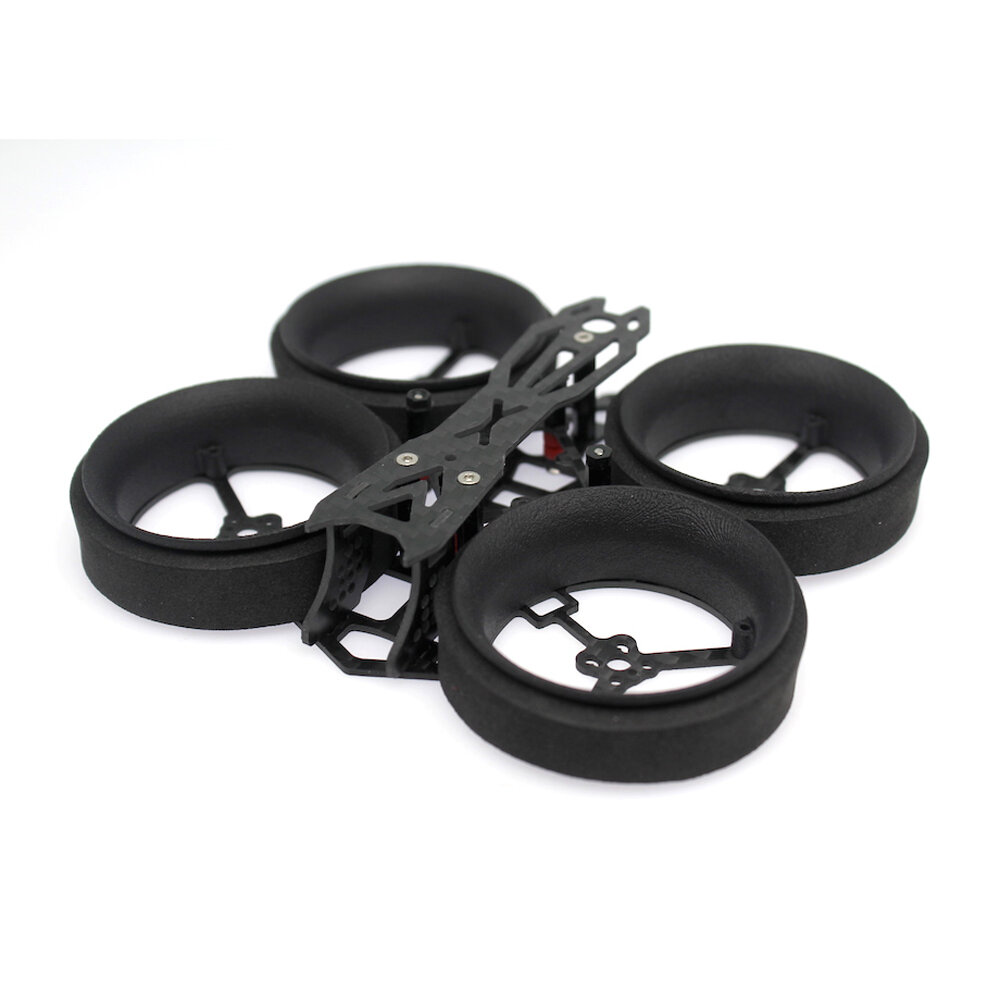 HBFPV DX40 92mm Wheelbase 40mm EVA Duct Tinywhoop Frame Kit For Cine Whoop For RC Drone FPV