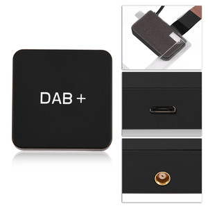 Image 3 - Car Kit Digital Audio Broadcast DAB DAB+ Box Radio Receiver Adapter with Antenna for Android Digital Radio Receiver