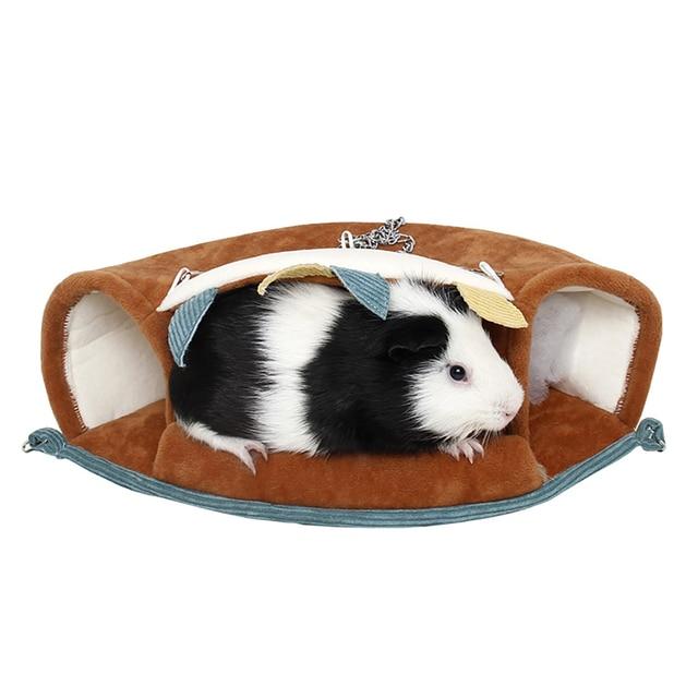 Hamac pour petits animaux | Lit-balançoire suspendu, pour Tunnel, pour animaux domestiques, niche, Rat, Hamster, oiseau, écureuil, Cage de suspension, fournitures pour perroquets, oiseaux de compagnie
